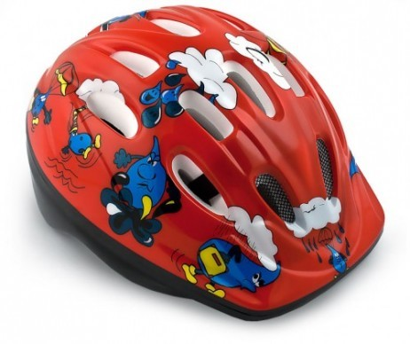 velohelm helm fahrradhelm f r kinder rot fit sch n fitness. Black Bedroom Furniture Sets. Home Design Ideas