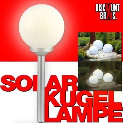 led solar leuchtkugel kugelleuchte kugellampe 15cm warmweiss spiel hobby elektronik licht solar. Black Bedroom Furniture Sets. Home Design Ideas