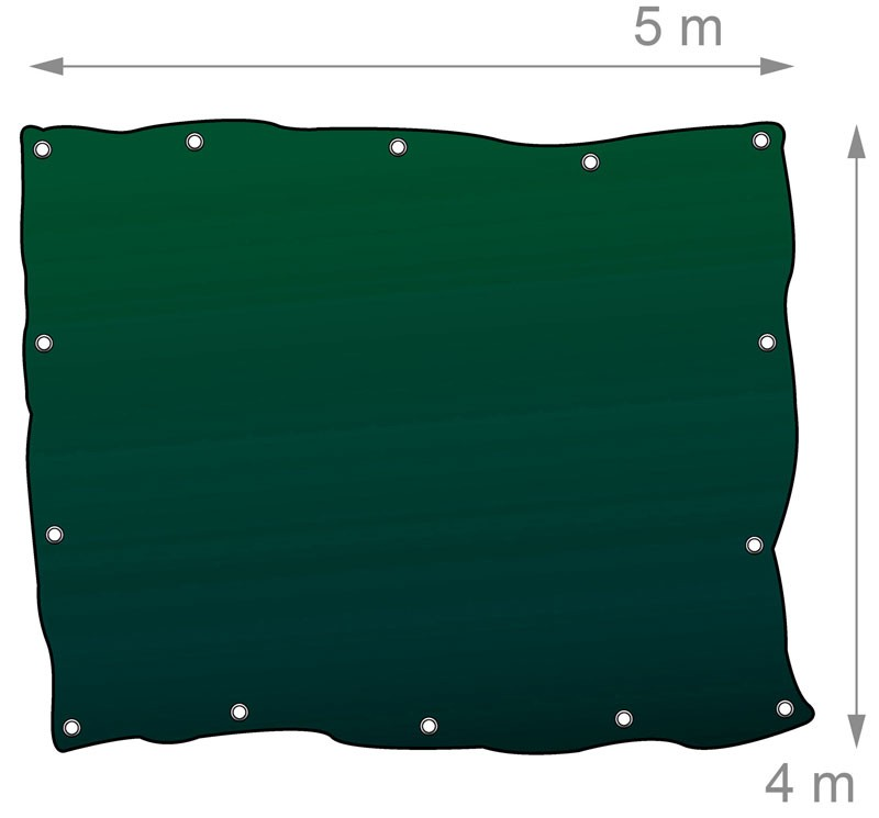 gewebeplane abdeckplane blache plane mit sen alle 100cm 5. Black Bedroom Furniture Sets. Home Design Ideas