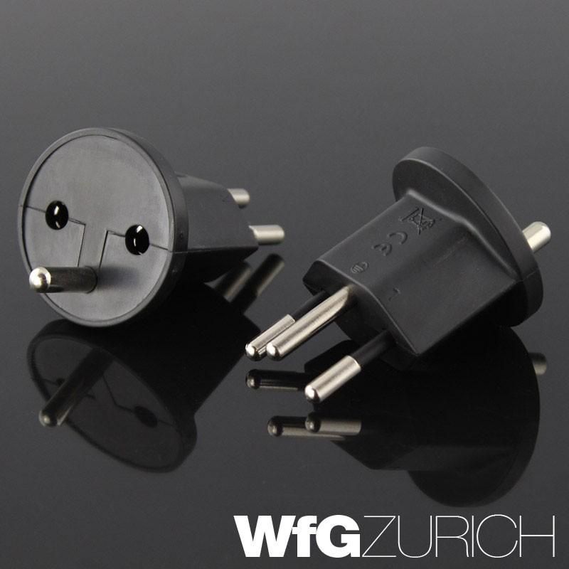 permanent fix adapter stecker ohne montagehilfe schuko typ f cee 7 zu schweiz t12 3 polig. Black Bedroom Furniture Sets. Home Design Ideas