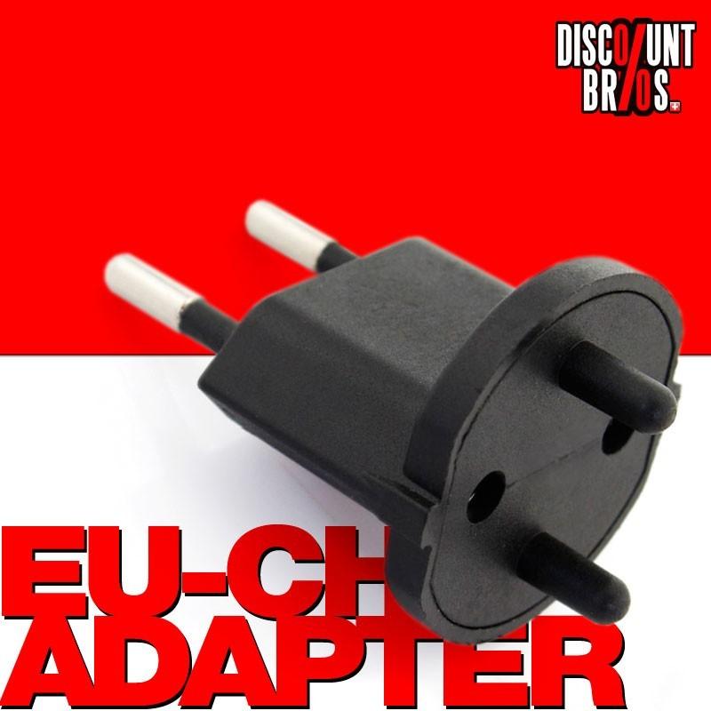 permanent fixadapter fix adapter stecker ohne montagehilfe schuko typ f cee 7 zu schweiz t11. Black Bedroom Furniture Sets. Home Design Ideas