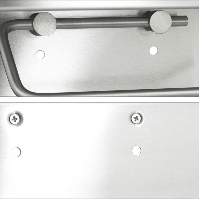 toilettenpapierhalter wc papier halter mit ablage aus. Black Bedroom Furniture Sets. Home Design Ideas