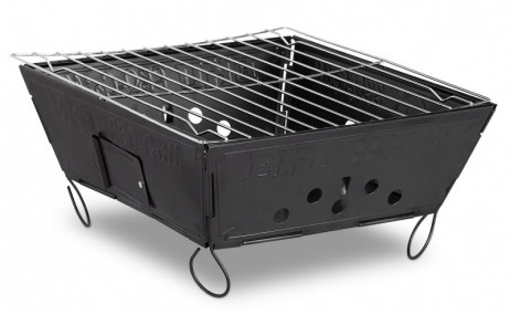 Leichter Holzkohle GRILL Outdoor Klappgrill Faltgrill – Bild 2